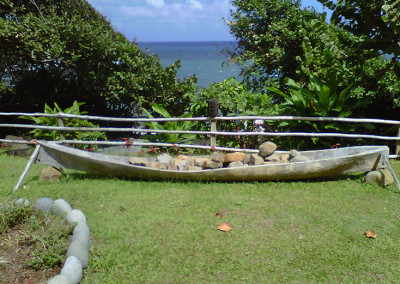 Traditional Kalinago Canoe