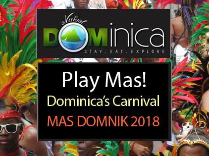 dominica s carnival mas domnik carnival in dominica jump up a