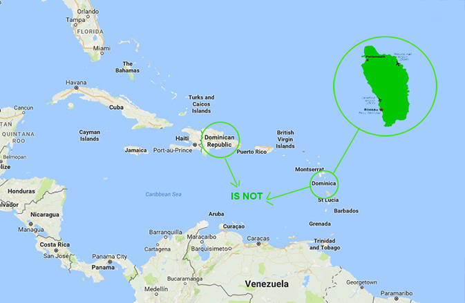 Were Not The Dominican Republic a virtual Dominica