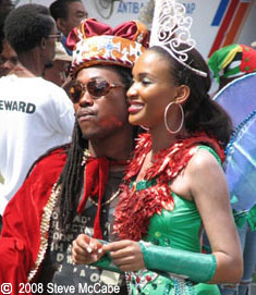 King Dice & Queen Marah, Dominica Carnival Monday