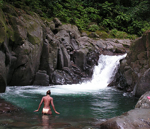 Dominica Island Rivers