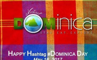 It's Hashtag #DOMINICA Day!