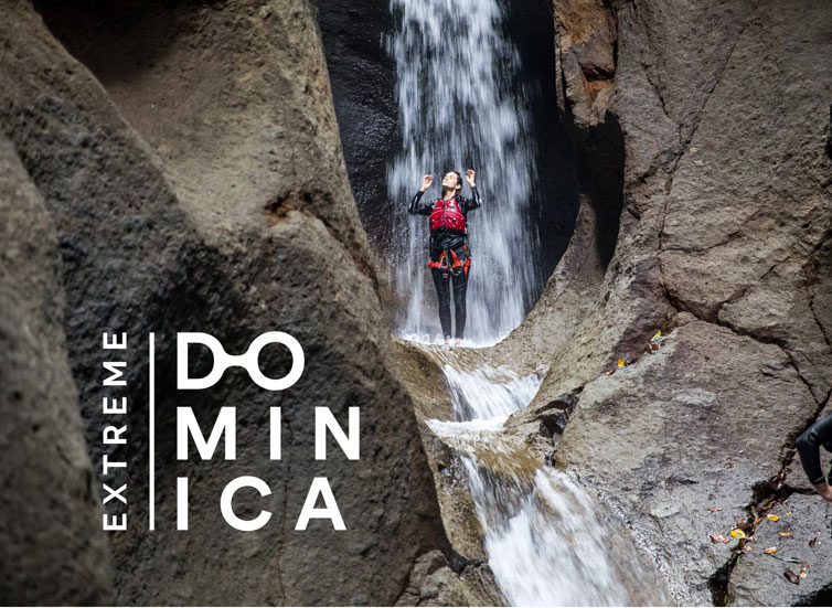 Extreme Dominica Canyoning Experience
