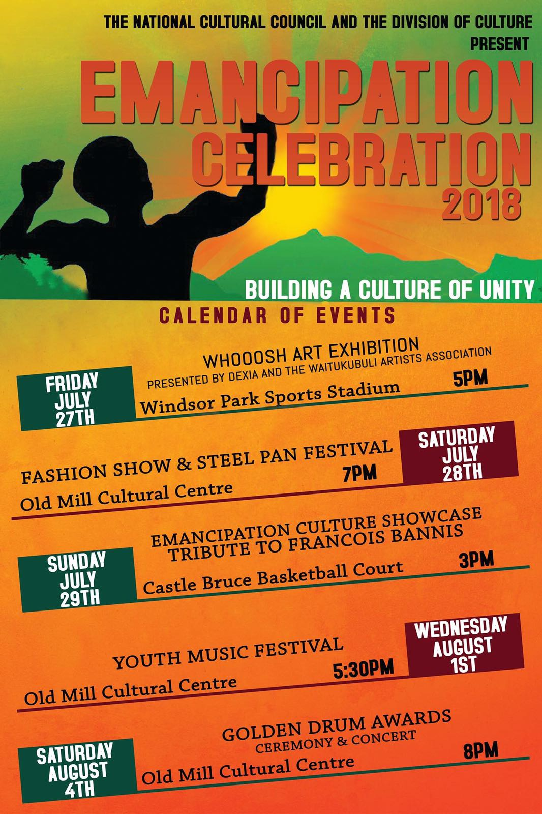 emancipation celebrations