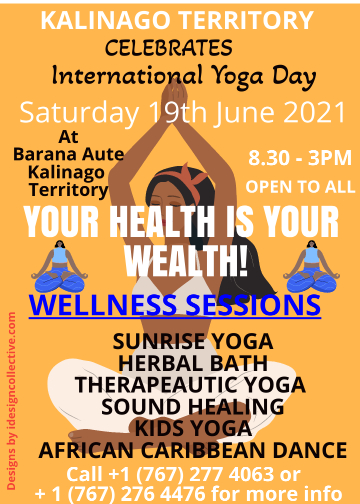 International Yoga Day 2021 in Dominica