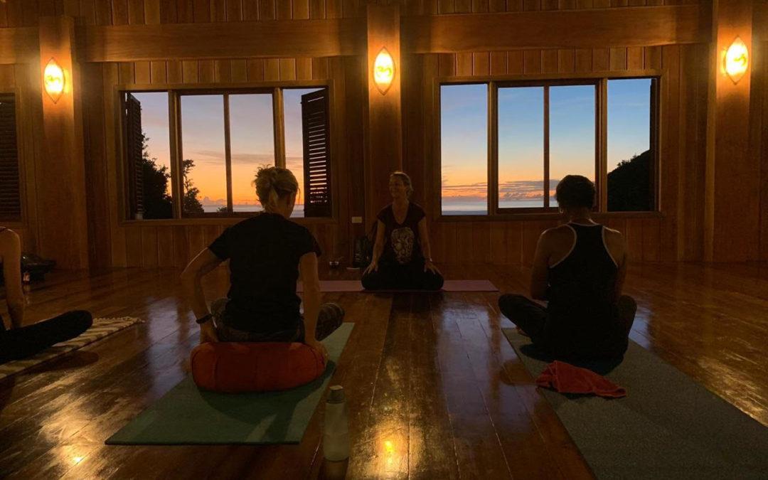 Yoga at Jungle Bay